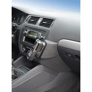 Kuda Lederkonsole für VW Jetta ab 03/ 2011 Mobilia /  Kunstleder schwarz
