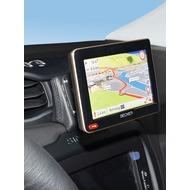 Kuda Navigationskonsole für Jeep Renegade ab 2015 Navi Echtleder schwarz