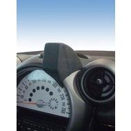 Kuda Navigationskonsole für Navi BMW Mini Countryman ab 09/ 2010 Mobilia Kunstleder schwarz