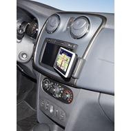 Kuda Navigationskonsole für Navi Dacia Sandeo 03/ 2012 Kunstleder schwarz