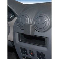 Kuda Navigationskonsole für Navi Dacia Sandero, Logan (07/ 08)/ Duster Mobilia /  Kunstleder schwarz
