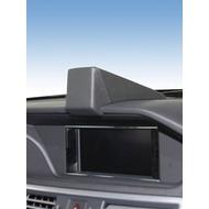 Kuda Navigationskonsole für Navi MB E-Klasse W212 03/ 2009- & ab 2012 GLK 2013- Mobilia /  Kunstleder schwarz
