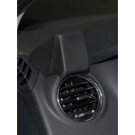 Kuda Navigationskonsole für Navi Peugeot 3008 07/ 2009 & 5008 ab 2009 Echtleder schwarz