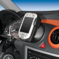 Kuda Navigationskonsole für Peugeot 1007 ab 07/ 05 Echtleder