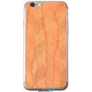 Lazerwood Chevron cherry - iPhone 6 Skins