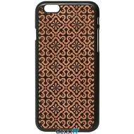Lazerwood Clementine black - iPhone 6 Snap case