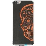 Lazerwood Sugarskulls black - iPhone 6 Skins