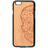Lazerwood Sugarskulls cherry - iPhone 6 Snap case