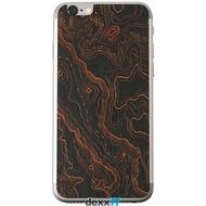 Lazerwood Topo black - iPhone 6 Skins