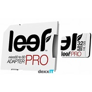 Leef microSDHC Pro - 32GB - Class 10 - UHS-I with SD Adapter