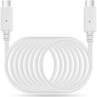 LEICKE KanaaN USB-Typ-C-Kabel (USB-C auf USB-C) - 1.80m - weiß