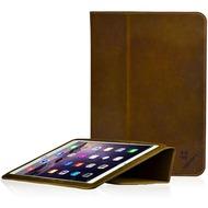 LEICKE MANNA Schutzhülle für Apple iPad Air 2, Leder, braun
