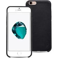LEICKE MANNA UltraSlim Hülle Apple iPhone 7 Echtleder schwarz
