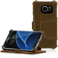 LEICKE MANNA UltraSlim Schutzhülle Samsung Galaxy S7, braun
