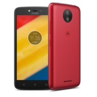 Lenovo Moto C plus, metallic cherry