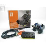 LevelOne 2-Port USB KVM Switch mit Audio - (KVM-0221)