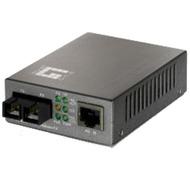LevelOne Converter 100TX to 100FX-SC Multimode - (POE)