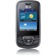 LG A200, schwarz