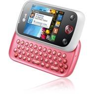 LG C330 linkz, weiß-pink