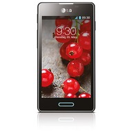 LG E460 Optimus L5 II, black metal brushed