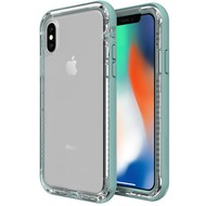 Lifeproof NËXT für Apple iPhone X, Back Cover, durchsichtig, Seaside