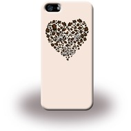 Liu-Jo Heart - Hardcase für Apple iPhone 5/ 5S/ SE - Beige