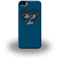 Liu-Jo Heart - Hardcase für Apple iPhone 5/ 5S/ SE - Blau