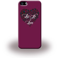Liu-Jo Heart - Hardcase für Apple iPhone 5/ 5S/ SE - Pink
