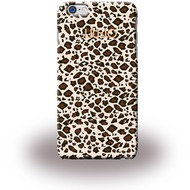 Liu-Jo Leopard Soft Case - TPU Cover für Apple iPhone 6 Plus/ 6S Plus - Beige