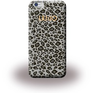 Liu-Jo Leopard Soft Case - TPU Cover für Apple iPhone 6 Plus/ 6S Plus - Grau