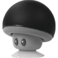 LogiLink portable Bluetooth Speaker mushroom design, schwarz