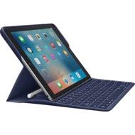 Logitech® CREATE - beleuchtetes Keyboard Case mit Smart Connector Technology - cyanblau (DE-Layout)