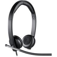 Logitech® Headset H650e - USB - Mono Schwarz - Business