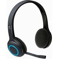 Logitech Wireless Headset H600, blau-schwarz