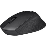 Logitech® Maus M330 Silent Plus - Wireless - Optisch Schwarz - 1000 dpi - 3 Tasten