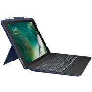 """Logitech® SLIM COMBO - abnehmb. Tastatur + SmartConnector - für iPad Pro 10.5"""" - blue - (DE)"""