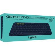 Logitech® Tastatur K380 - Multi-Device - Wireless - Unifying - Bluetooth Schwarz