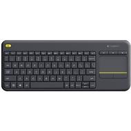 Logitech® Tastatur K400 Plus - Wireless - Unifying - Touchpad Schwarz