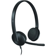 Logitech® USB Headset H340, schwarz