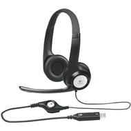Logitech USB Headset H390, schwarz