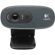 Logitech® Webcam HD C270 - USB - 720p - 3 MP Schwarz