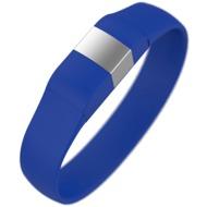 Lumdoo Classic Silikon Armband, Lightning USB Daten-& Ladekabel, medium, ice blue