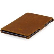 MANNA Kunstleder-Schutzhülle für iPad Mini 2/ 3, braun
