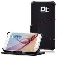 LEICKE MANNA UltraSlim-BookCover für Samsung Galaxy S6, schwarz