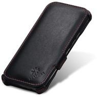 LEICKE MANNA UltraSlim-BookCover für HTC One M9, Schwarz