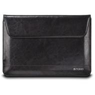 maroo Executive Leder-Tasche /  Sleeve  Apple MacBook 12  schwarz