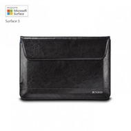 maroo Executive Ledertasche/ Sleeve Microsoft Surface 3 Marbled Black MR-MS3206
