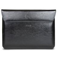 maroo Marbled Leder-Tasche /  Sleeve, Microsoft Surface Book 2 (15), schwarz