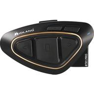 Midland Midland BTX1 Pro, Single - Bluetooth Headset für Motorradhelme