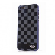 Mini Cooper Chequered - Hart Cover/ Hülle/ Case - Apple iPhone 5, 5S
